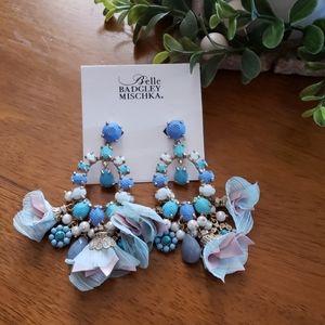 Belle Badgley Mischka Clip on earrings